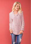 Cabin Fever Drawstring Top