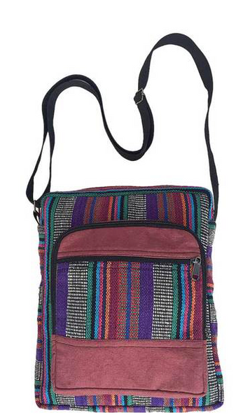 Striped Multi Shoulder Bag