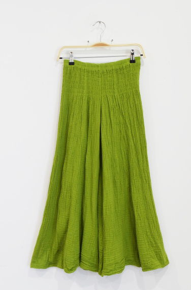 Thai Cotton Crinkle Pants