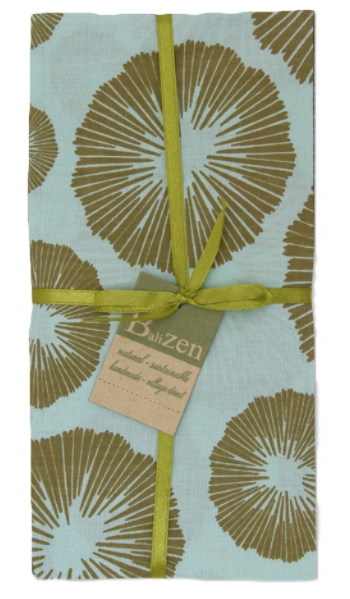 Sea Flower Napkins, Set of 4