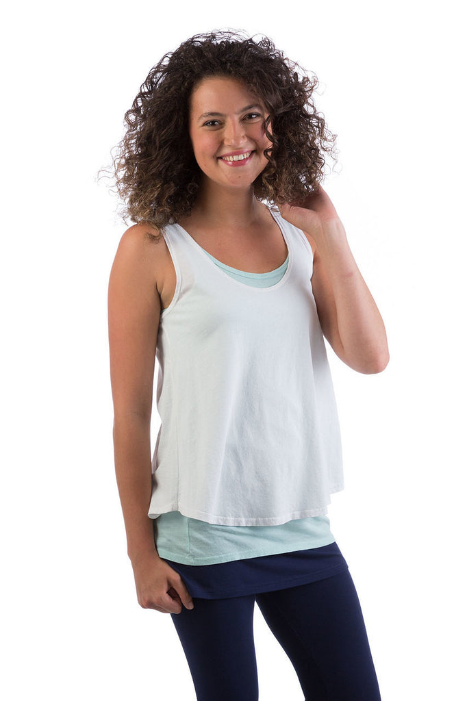 Amelie Organic Cotton Swing Tank