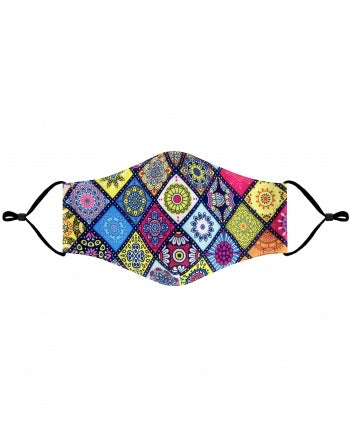 Colorful Quilt cloth Mask