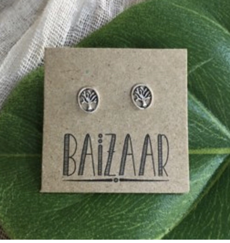 Tree Stud Earring
