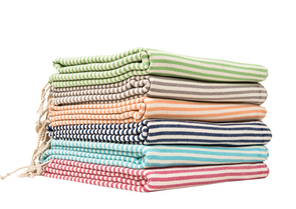 Thin Stripe Turkish Towels