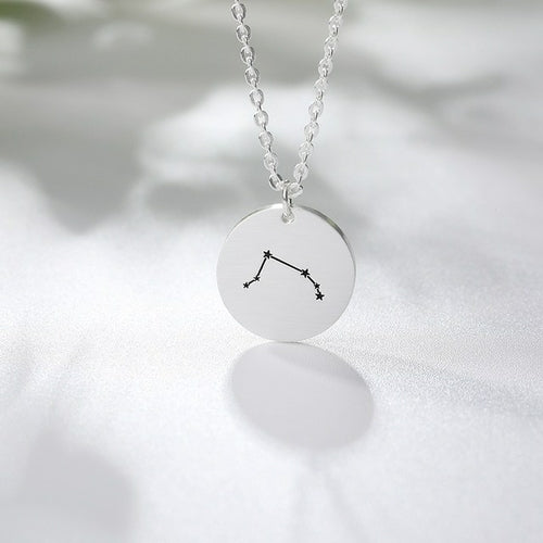 Dainty Zodiac Constellation Necklace