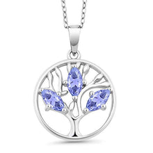 Load image into Gallery viewer, Amethyst Tree Of Life Necklace