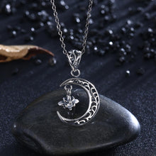 Load image into Gallery viewer, Moon Goddess Sterling Silver Necklace