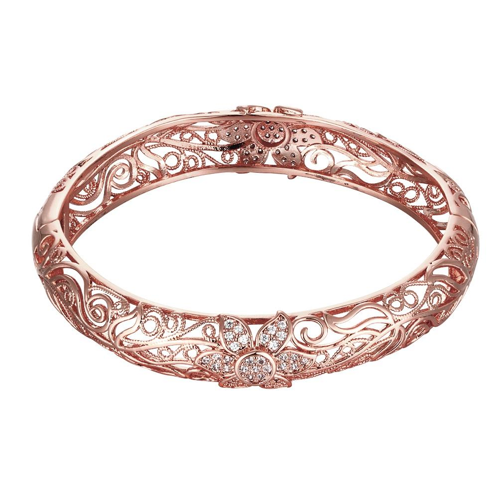 Elven Goddess Rose Gold Bracelet