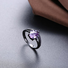 Load image into Gallery viewer, Majestic Amethyst Goddess Ring