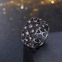 Load image into Gallery viewer, Bundle Of Love Pink Swarovski Ring