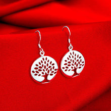 Load image into Gallery viewer, Tree Of Life Drop Earrings