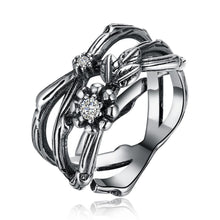 Load image into Gallery viewer, The Flower Goddess Silver Ring