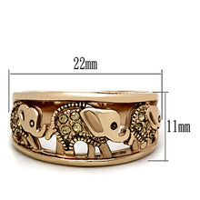 Load image into Gallery viewer, Majestic Crystal Elephants Ring