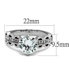Load image into Gallery viewer, Majestic Crystal Stainless Steel Ring