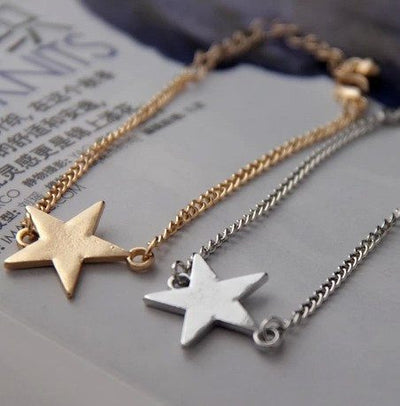 Bracelet - Star And Moon Pair Bracelets