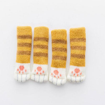 Decoration - Kitty Cat Paw Chair Socks