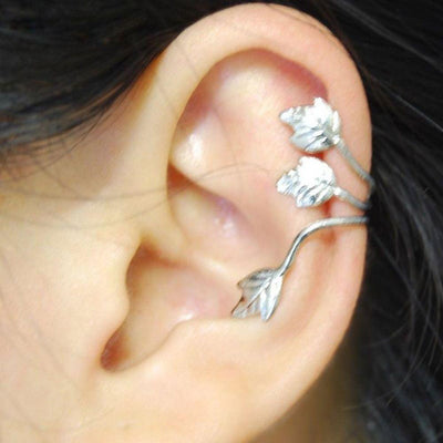 Ear Clip - Leaf Wrap Ear Cuffs