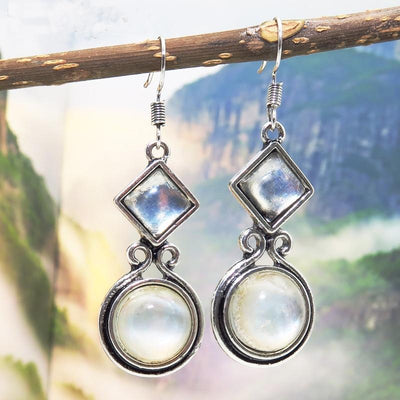 Earrings - Exquisite Moonstone Earrings