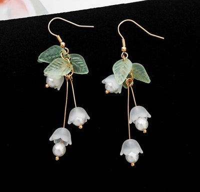 Earrings - Lily Of The Valley Earrings