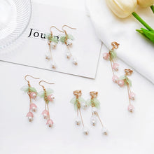 Load image into Gallery viewer, Earrings - Lily Of The Valley Earrings