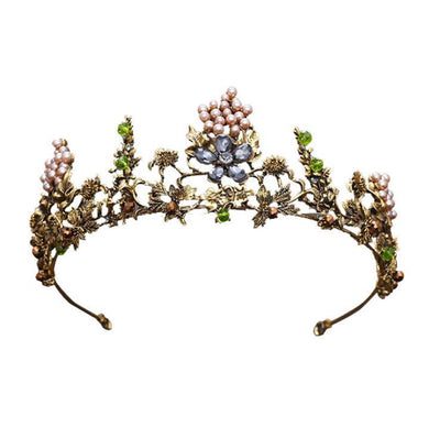 Hair Accessories - Forest Queen Tiara Headband