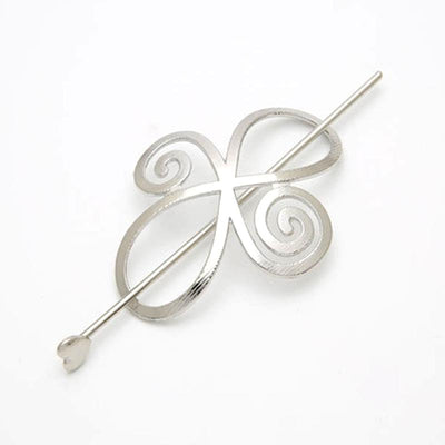 Hair Accessories - Infinity Swirl Hair Barrette