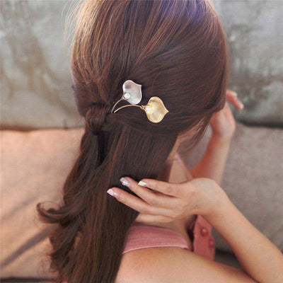 Hair Accessories - Majestic Ginkgo Leaf Hair Clip