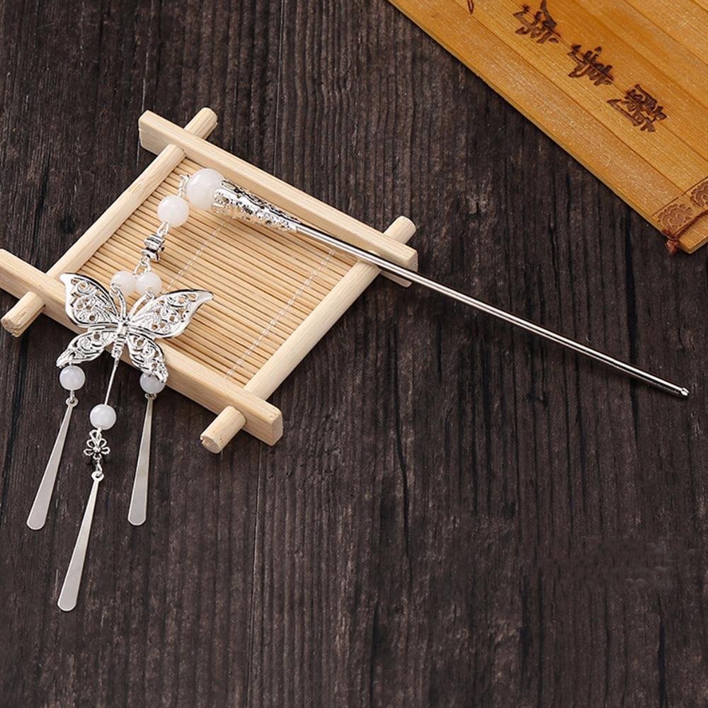 446160b35 Traditional Ethnic Style Butterfly Hair Stick - The Enchanted Forest