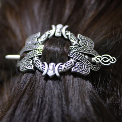 Hair Accessories - Viking Fantasy Hair Barrette