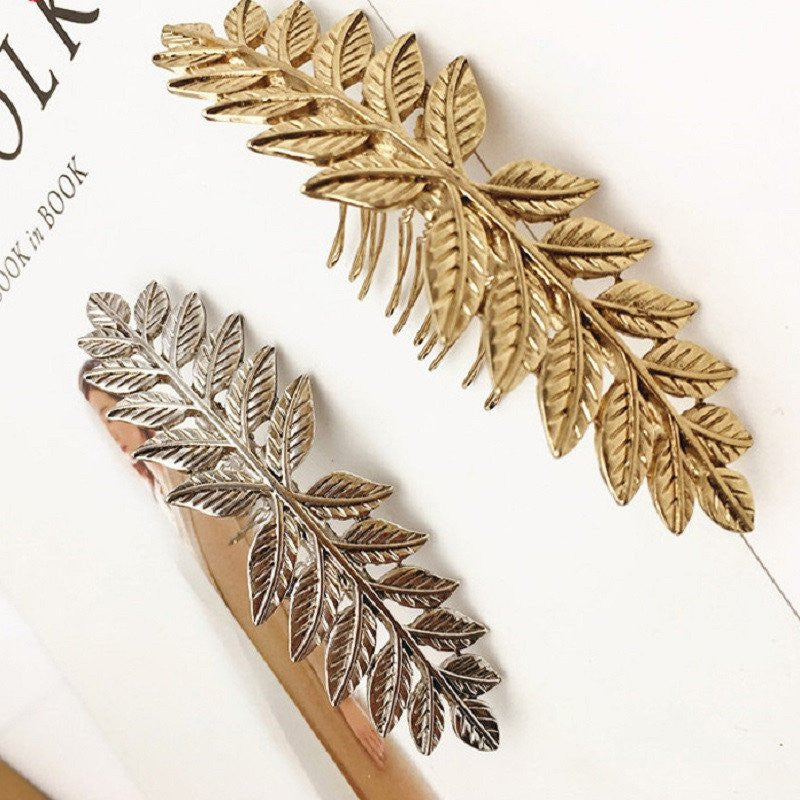 Vintage Style Leaf Branch Hair Comb The Enchanted Forest