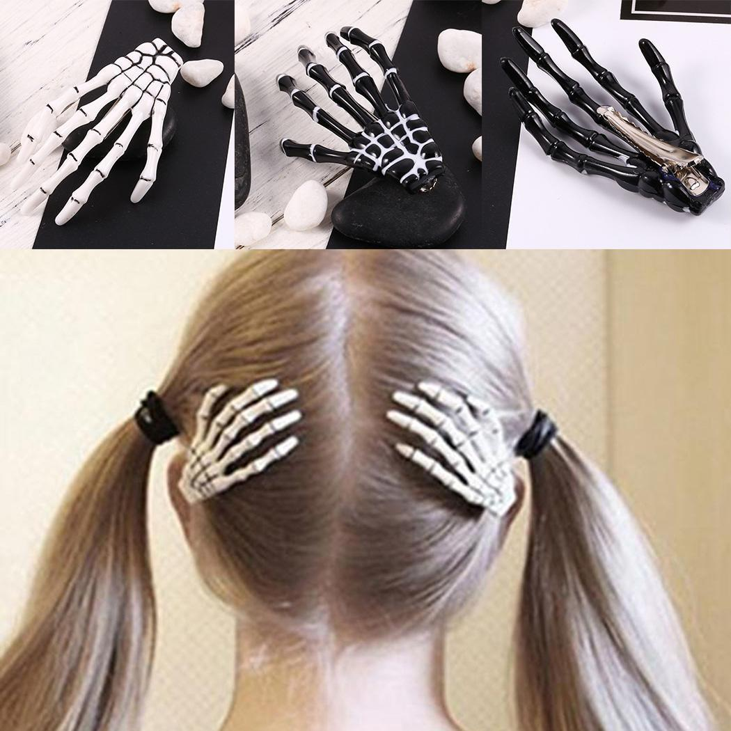 zombie claws halloween hair clip - the enchanted forest