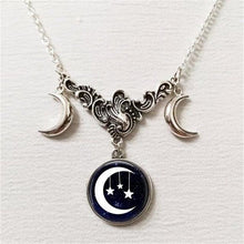 Load image into Gallery viewer, Necklace - Celestial Moon Goddess Necklace