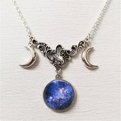 Necklace - Celestial Moon Goddess Necklace