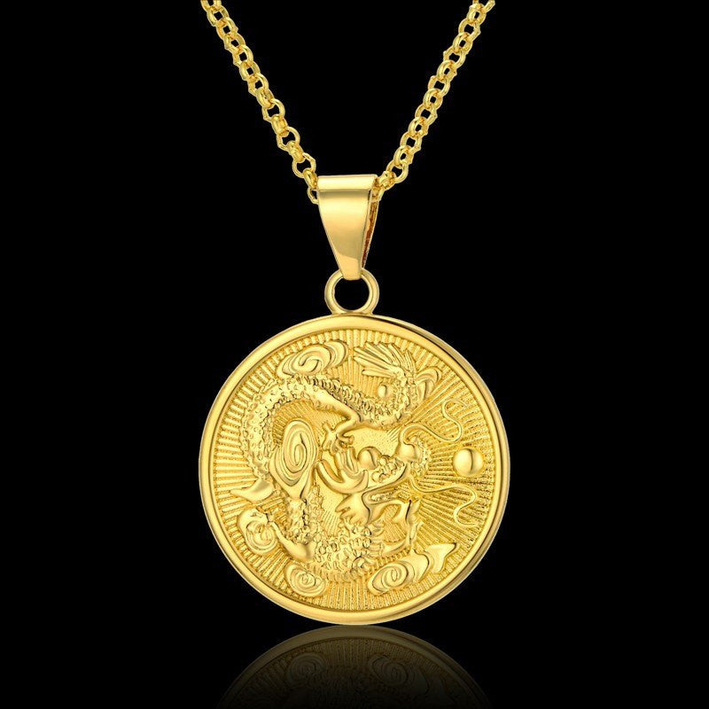 Chinese Zodiac Dragon Necklace The Enchanted Forest