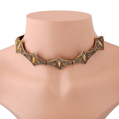 Necklace - Dragon Warrior Gothic Style Necklace