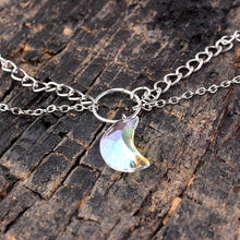 Load image into Gallery viewer, Necklace - Enchanted Moon Layered Necklace
