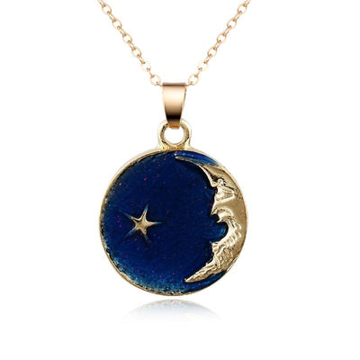 Necklace - Enchanting Crescent Moon Necklace