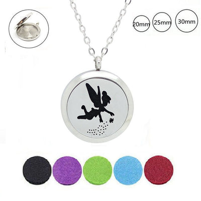 Necklace - Fairy Essential Oil Diffuser Necklace