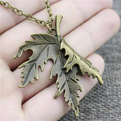 Necklace - Falling Leaf Necklace
