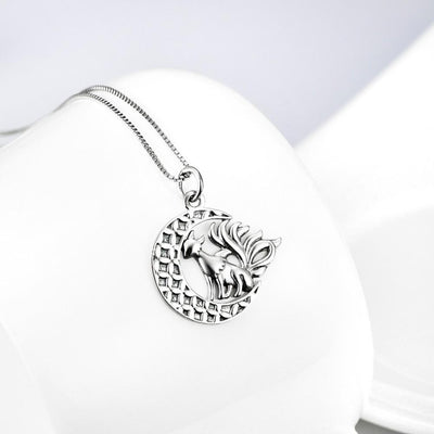 Necklace - Nine Tailed Fox Sterling Silver Necklace