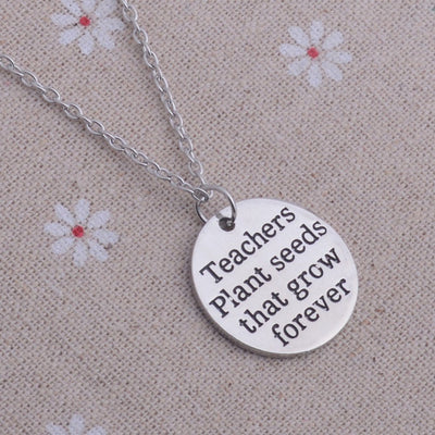 Necklace - Teacher Inspirational Necklace
