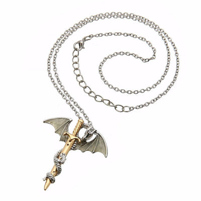 Necklace - The Dragon Warrior Glow In The Dark Necklace