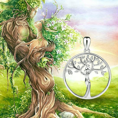 Necklace - The Tree Of Life Goddess Necklace
