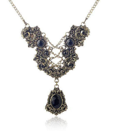 Necklace - Victorian Era Inspired Vintage Necklace
