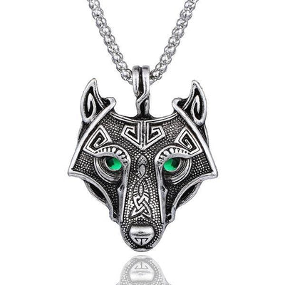 Necklace - Viking Wolf Necklace