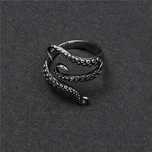 Load image into Gallery viewer, Gothic Style Octopus Wrap Ring