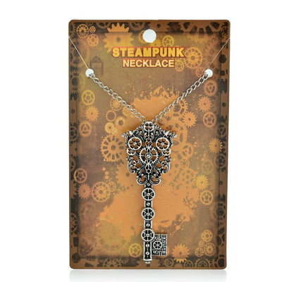 Vintage Style Steampunk Key Necklace