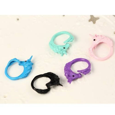 Ring - Candy Colored Unicorn Wrap Ring