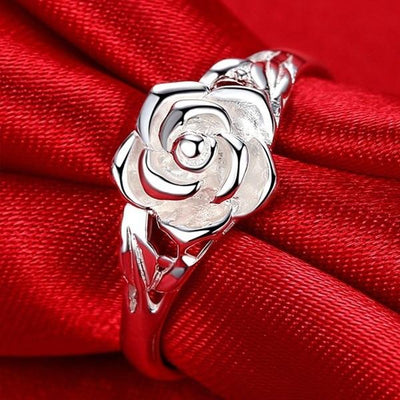Ring - Captivating Rose Silver Ring