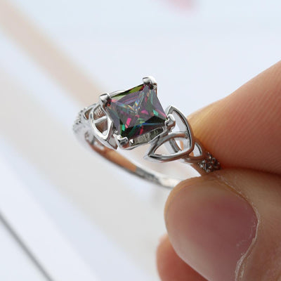 Ring - Celtic Mystic Rainbow Ring